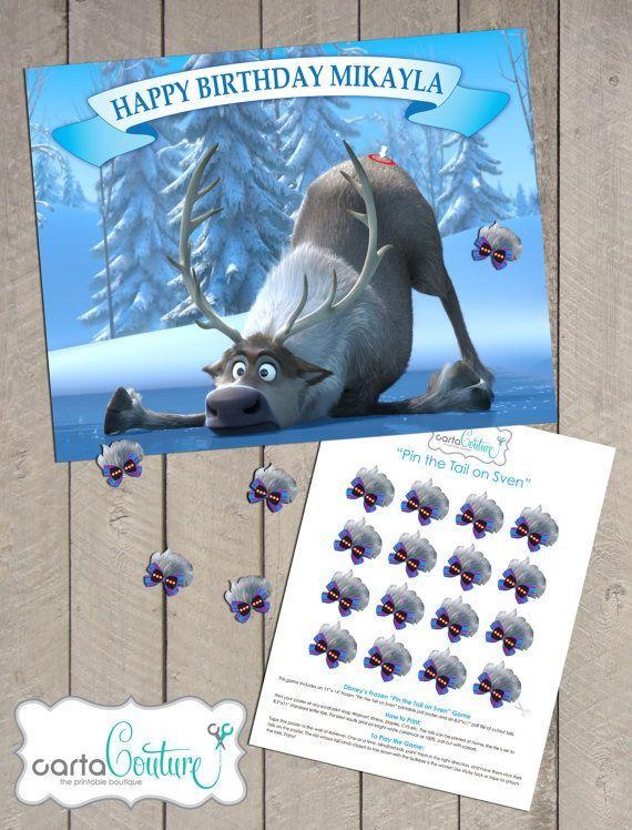 The 25 best Frozen birthday party games ideas on Pinterest