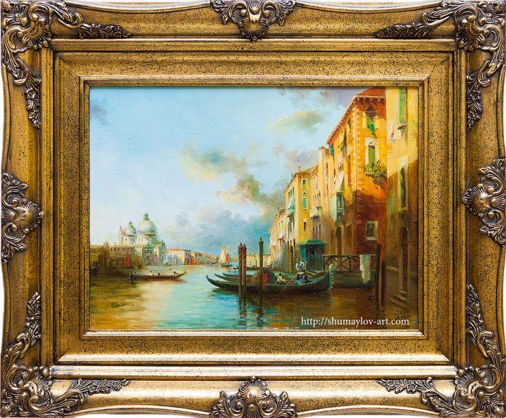 #живопись #Painting #seascape #морской #пейзаж #Art #Venecia