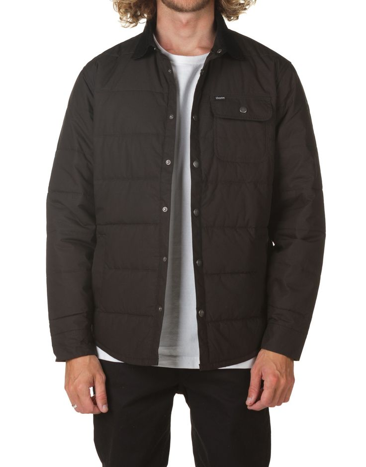 Buy Brixton Cass Jacket Black | Brixton Clothing
