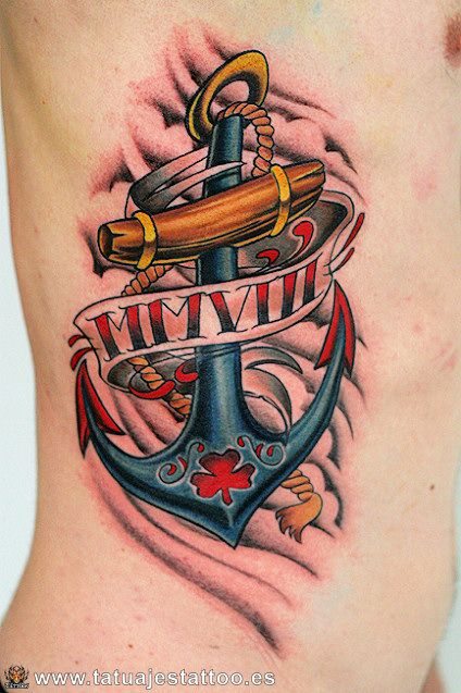 52 Best Images About Anchor Tattoos On Pinterest