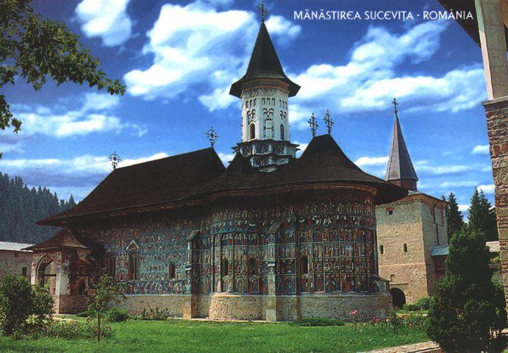 Sucevita església