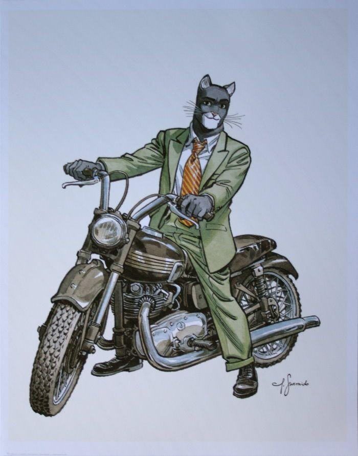 "juanjo guarnido art   Juanjo GUARNIDO : ""Blacksad, Triumph"""