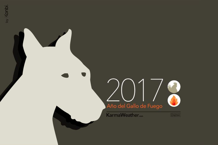 Perro 2017 - Horóscopo chino 2017 para el signo del #perro durante el Año del Gallo 2017. Por Karma Weather #zodiaco #horoscopo #anonuevo #anonuevochino #karmaweather
