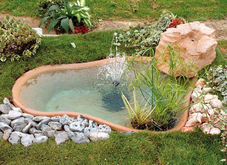 Vasche per pesci da giardino trendy laghetti artificiali for Vasche preformate per laghetto