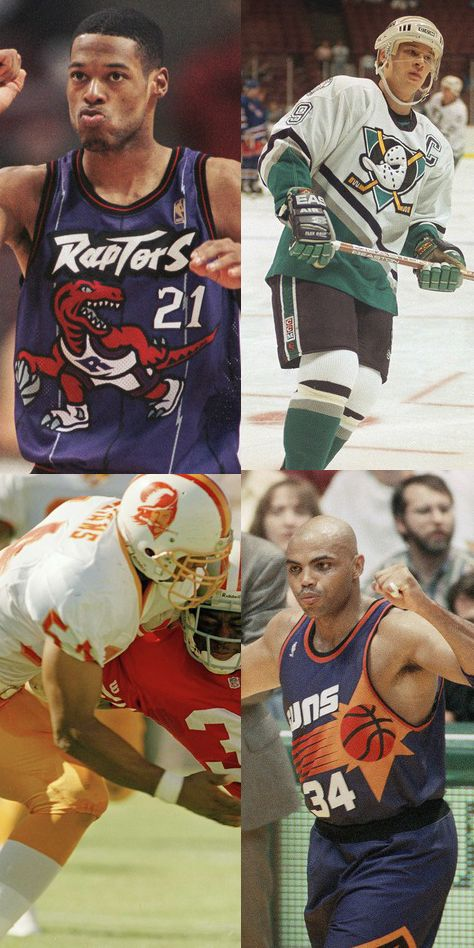 The '90s had some of the best pro sports jerseys.