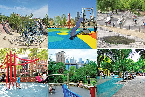 Summer Guide 2010 - The Top Nineteen Playgrounds -- New York Magazine