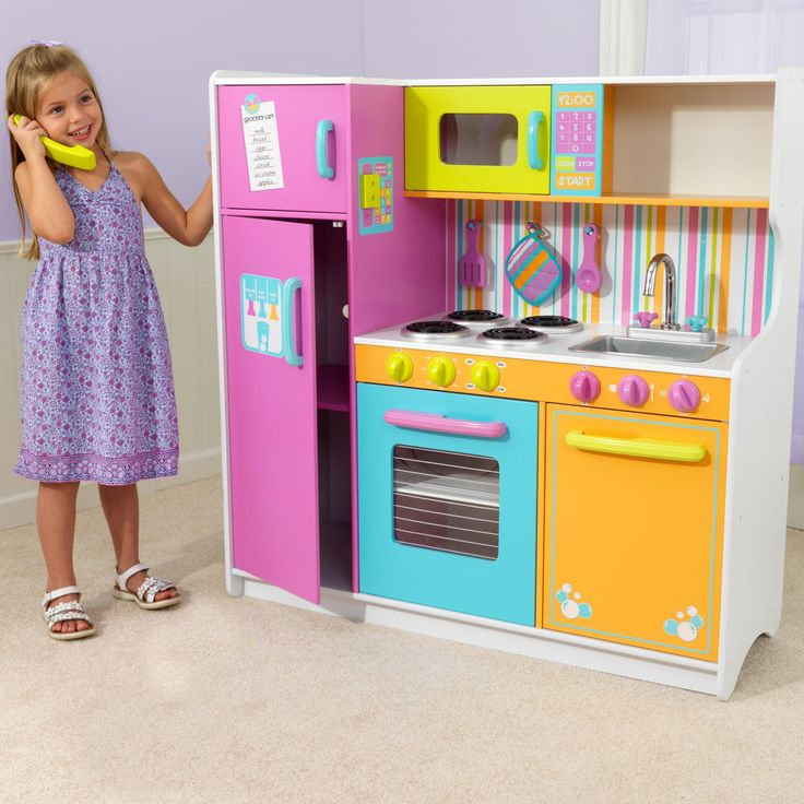 KidKraft Big & Bright Play Kitchen - 53100 - 53100