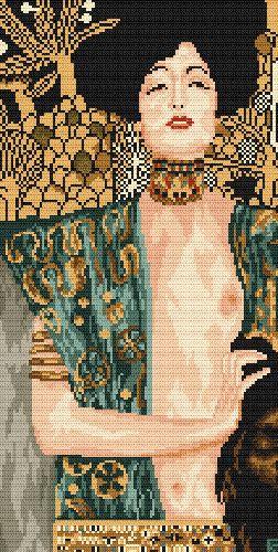 Judyta z głową Holofernesa - G. Klimt
