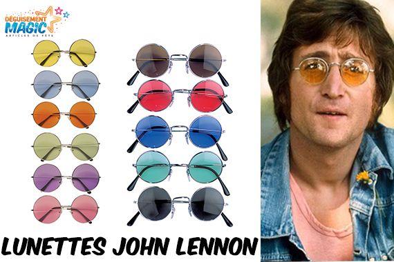 Lunettes John Lennon http://www.deguisement-magic.com/lunettes-annees-70-rondes-6.html