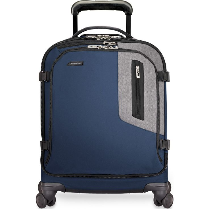 Briggs & Riley Explore International Wide-body Spinner Suitcase | Blue BU221SPW