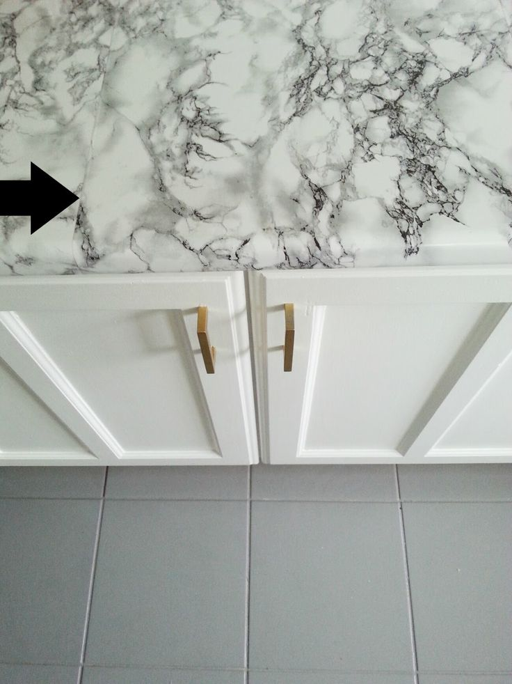 Super Detailed Tutorial On Faux Marble Contact Paper Countertops