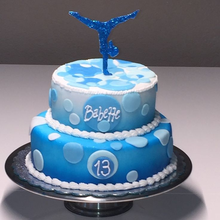 Gymnastics Birthday Cake Rhythmic Gymnastic Cake Cakecentral Pin