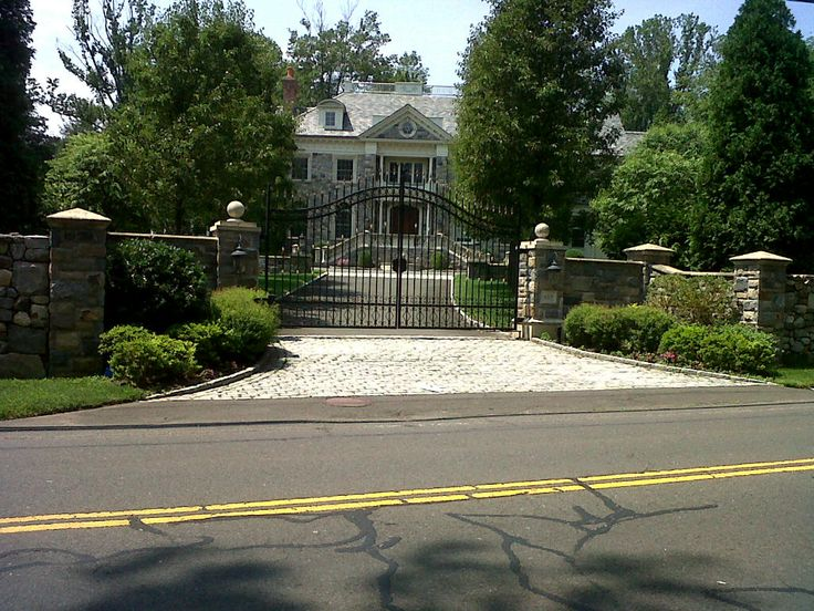 Pictures Of Stone Estate Entry Gates Stone Gate Entryway