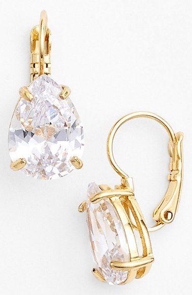 Beautiful kate spade jewel drop earrings