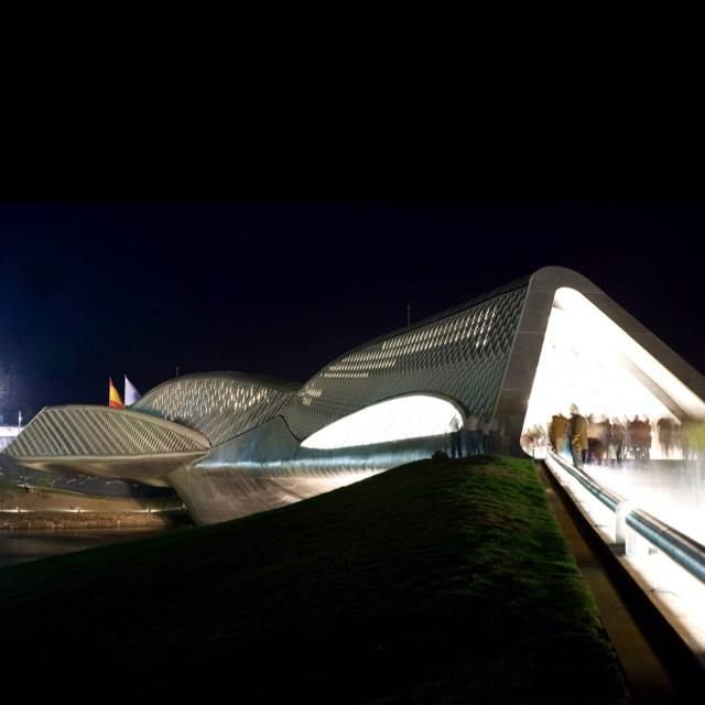 Zaragoza bridge-Spain