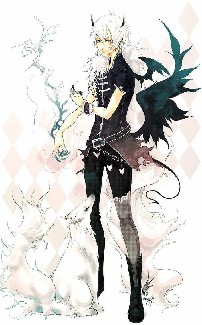 Angel Demon boy (Boku no hero academia x Male oc)   idk yet