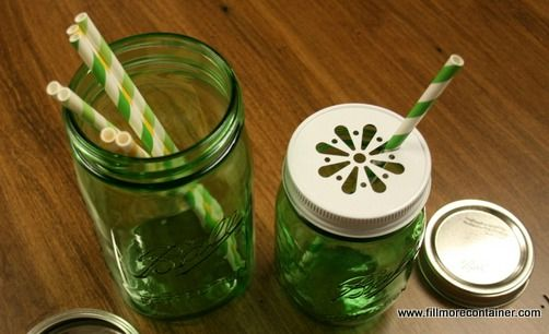 Ball Green Heritage Collection Jars (Quart & Pint) -Fillmore Container