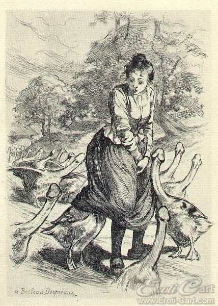 "La Grande Danse Macabre des Vifs - 05 : Erotic illustration by Martin Van Maele from ""La Grande Danse Macabre des Vifs"" first published in 1905."