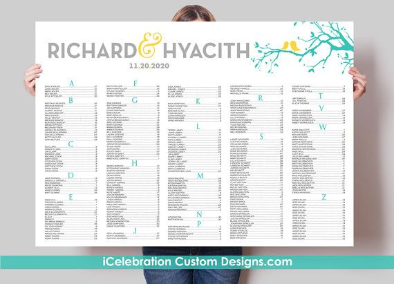 30 best Seating Chart images on Pinterest Receptions, Wedding - free printable seating chart