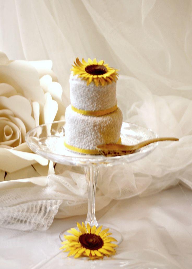 MIni cake di asciugamani