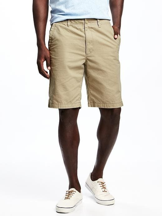 "Old Navy Broken-In Khaki Shorts for Men (10"")"