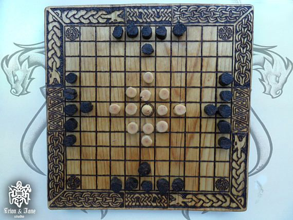 Hey, I found this really awesome Etsy listing at https://www.etsy.com/ru/listing/511378566/board-game-the-vikings-hnefatafl