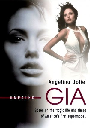 Gia with Angelina Jolie based on true story of super-model Gia Carangi (late 70's). Sad story, really well acted, so sad her life was cut short...