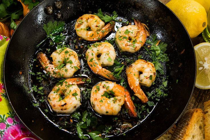 A shrimp dish that's packed with flavor and savory heat! Gambas Pil Pil by Simon Majumdar.