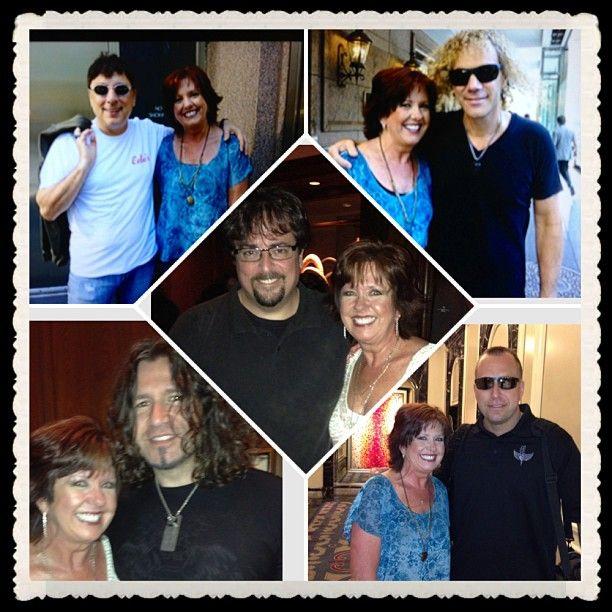Chicago - july 2013 - my pics with Bobby Bandiera, David Bryan, David Bergman, Phil X, and Matt Bongiovi ;)
