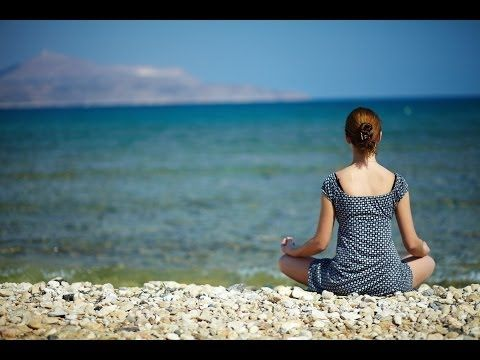 A Meditation for Stress Relief & Anxiety: Walk Along the Beach Guided Meditation Visualization - YouTube