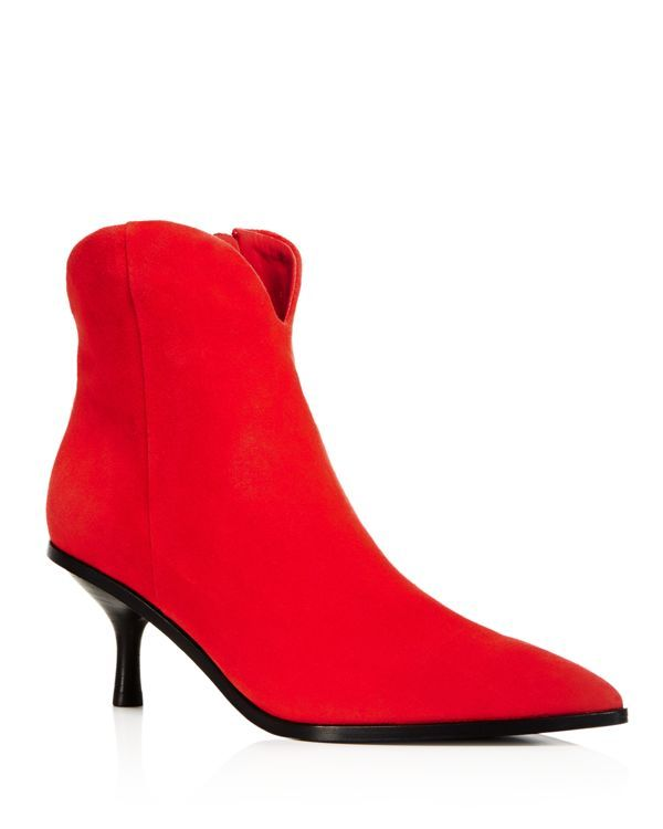 4e8d26a55ed Sigerson Morrison Women s Hayleigh Suede Pointed Toe Booties ...