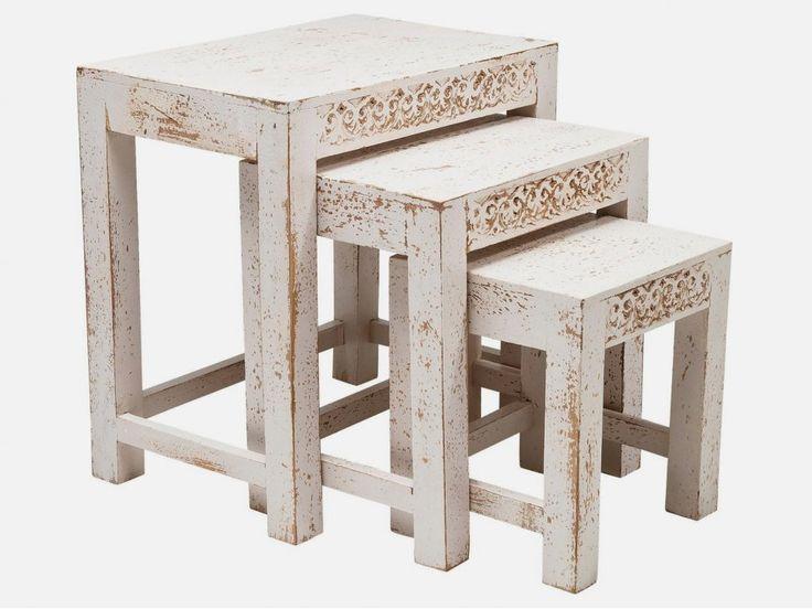 Stolik Kawowy Taberna (3/Set) — Ławy, Stoliki kawowe — KARE® Design