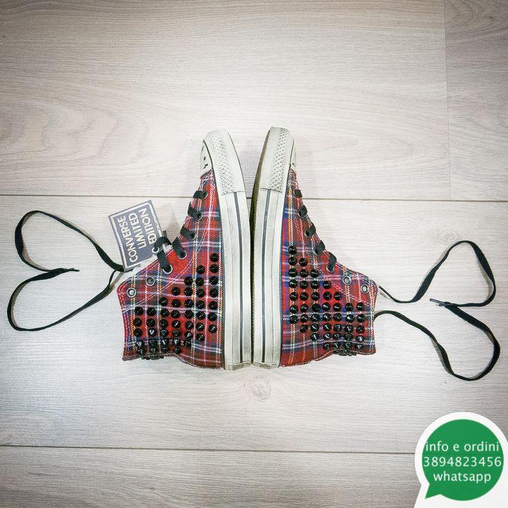 #allstars #converse #limitededition #shoponline  Converse tartan e shearling in edizione limitatainfo H24fb// facebook.com/kaosalbanoWhatsapp//389 4823456 EMail//  kaoseco56@gmail.com