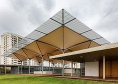 Rio 2016 Olympic Golf Course includes rainwater-collecting canopy by Rua…