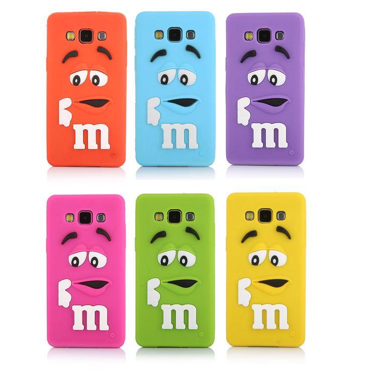 Silicone macio M & M caso Capa para Samsung Galaxy A5 J1 J5 J7 lindo Íris Feijão caso capa Para O Galaxy A5 A5000 J1 J5 J7 em Acessórios para Celulares de Telefonia e Acessórios no AliExpress.com | Alibaba Group