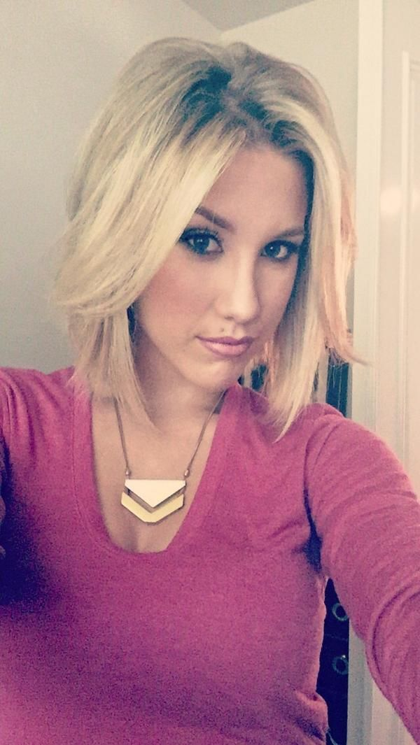 Love Savannah Chrisley's new short haircut!