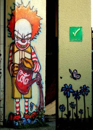 Street art by Mau MauStreetart