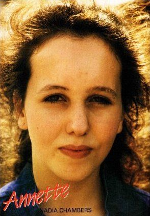 Annette Firman in Grange Hill was played by Nadia Chambers from 1982-85.