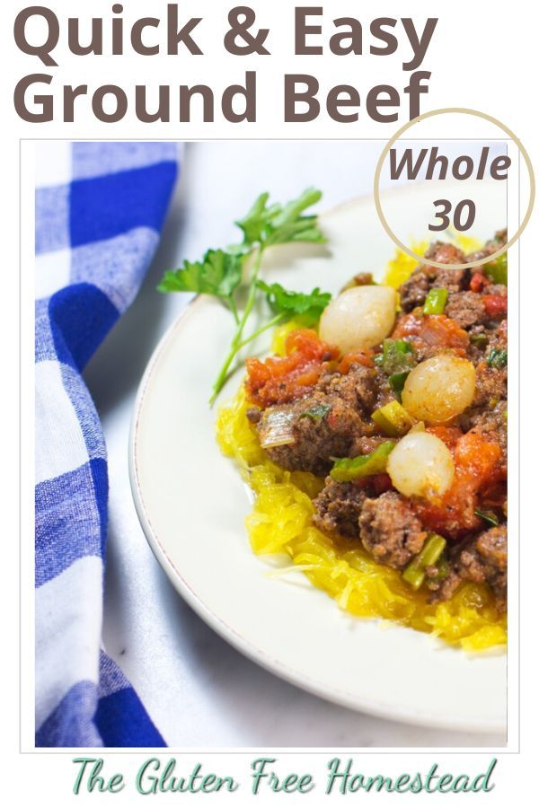 Beef Ragout With Tomatoes And Pearl Onions Quick And Easy Gluten Free Homestead Recipe In 2020 Beef Recipes Quick Ground Beef Recipes Paleo Gluten Free Recipes