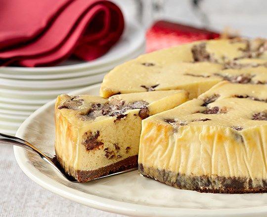 Chocolate Chunky Cookie Dough Cheesecake