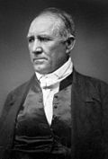 Sam Houston - President of the Republic of Texas formed in 1836. In the midst of the Texas Revolution, Texan settlers elected delegates to the Convention of 1836, which issued the Texas Declaration of Independence and elected David G. Burnet as interim president of the new country. In May 1836 Burnet and Mexican President Antonio López de Santa Anna, who was at the time a Texan prisoner-of-war, signed the Treaties of Velasco officially recognizing Texas's break from Mexico.