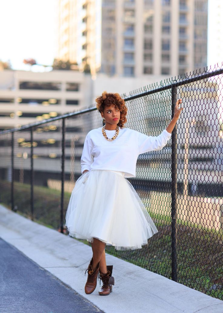 Twirling in my TULLIE on the streets of Atlanta!  Find yours at www.POCKETTBOUTIQUE.com