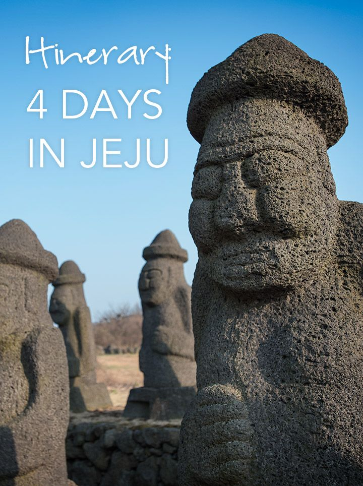 4-Day Itinerary to Jeju Island in South Korea