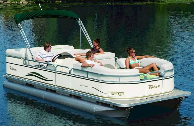 Holland Water Sports: rent a pontoon boat for travel from holland to saugatuck - $250 for 3 hours