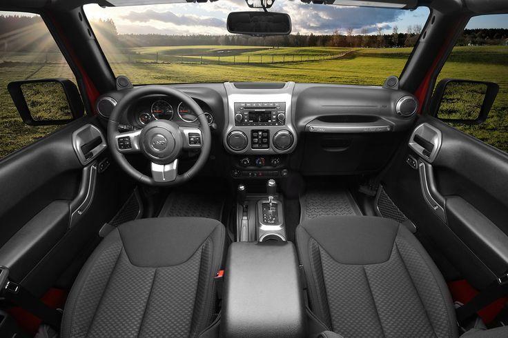 Interior Trim Accent Kit, Charcoal, Automatic; 11-16 Jeep Wrangler JK