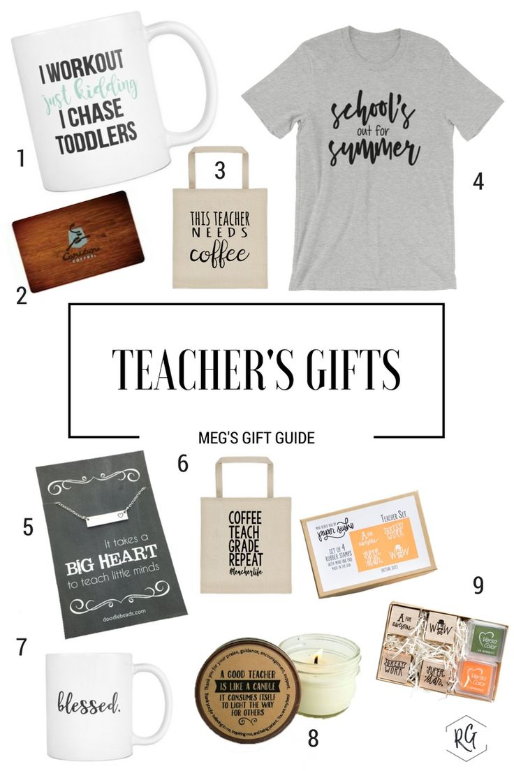 In honor of Teacher Appreciation week coming up, here is the first post of my gift guide series. This gift guide is for end of the school year gifts for the teachers in your life.  Like what you see? Be sure to share + Pin this post so you have it for next school year! These gift ideas are great for back to school, holidays, and the end of the year!