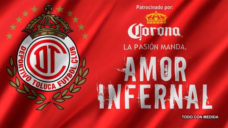 Logo y Escudo - Fotos del Deportivo Toluca FC Diablos Rojos del Toluca #Amor Escarlata