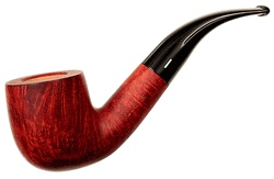 Savinelli Florence Briar Smoking Pipe - Smooth Walnut Full Bent