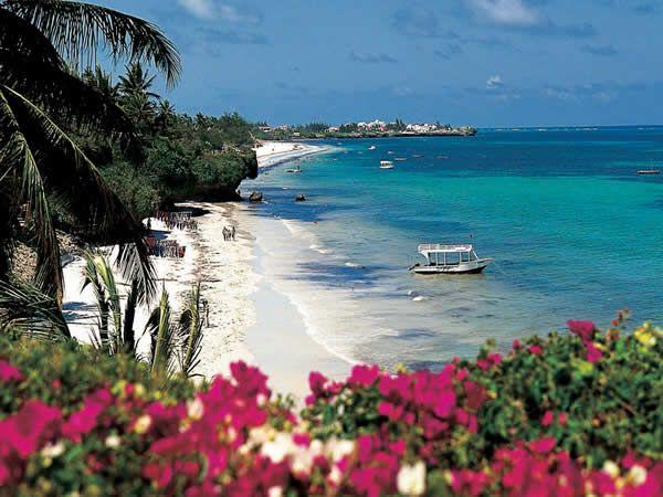 Mombasa Beach, Kenya.