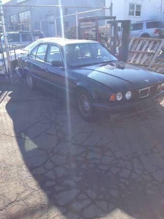 94 BMW 530 MANUAL PARTS CAR